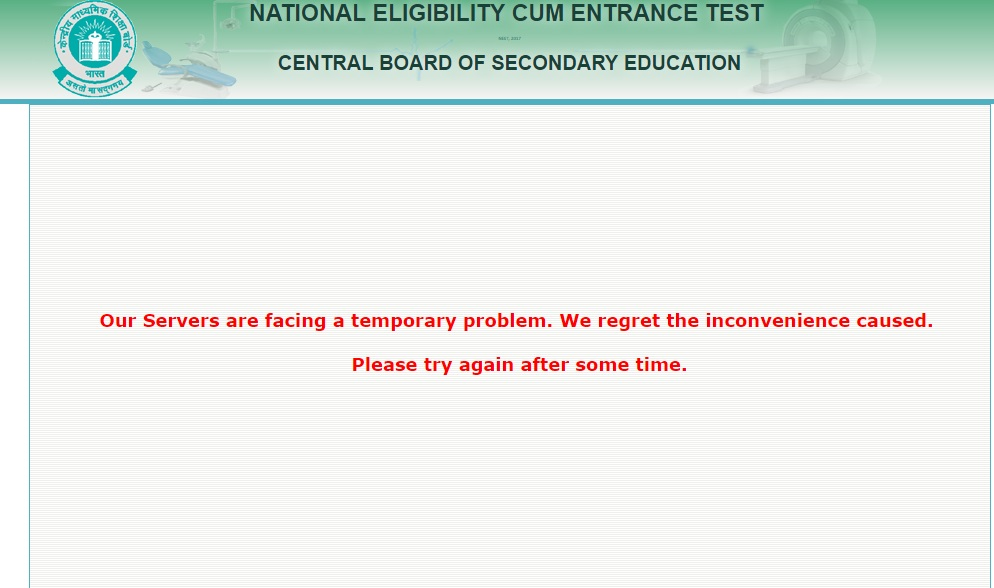 NEET 2017 Admit Card: Download CBSE NEET Hall Ticket at cbseneet